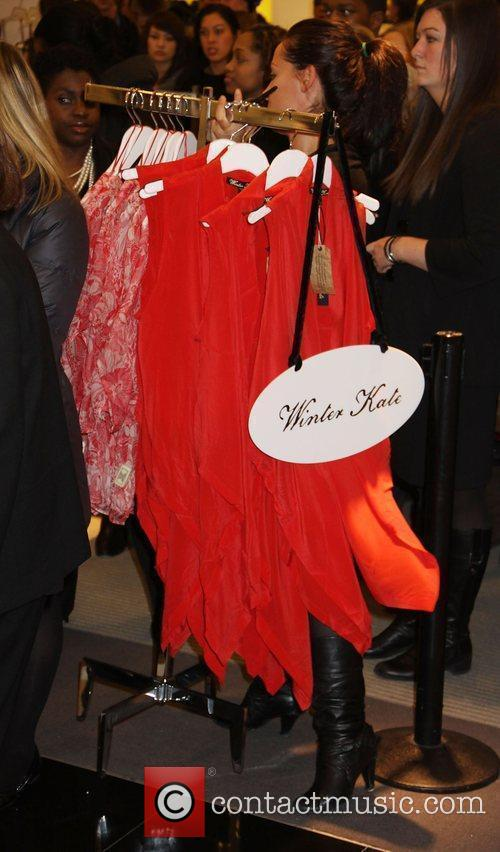 Nicole Ritchie introduces her line of clothing 'Winter...