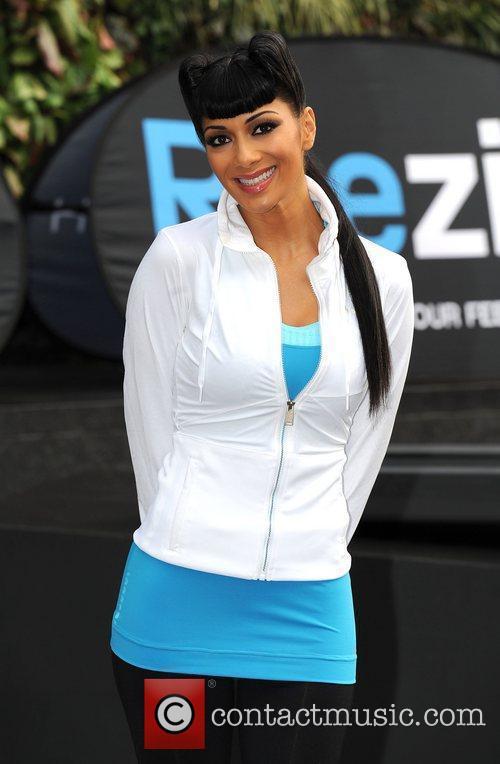 Nicole Scherzinger Reebok ZigTech photocall held at the...