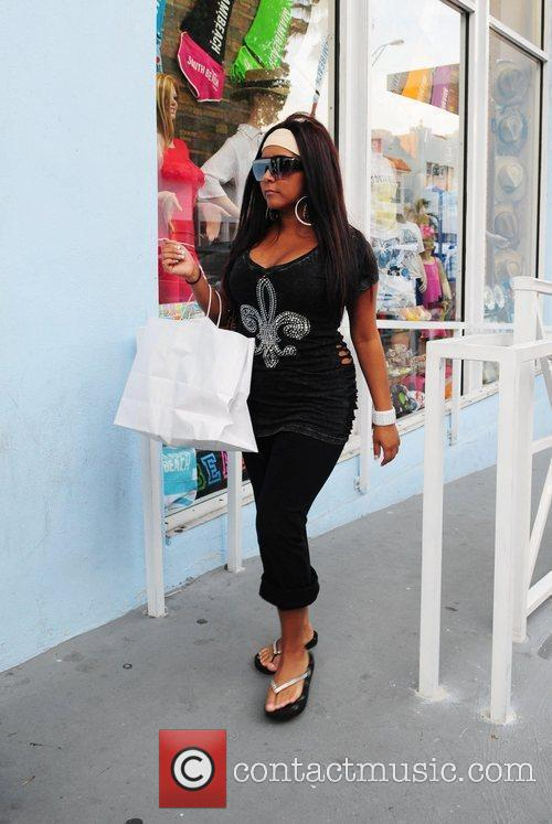 Nicole 'Snookie' Polizzi was spotted shopping in Miami...