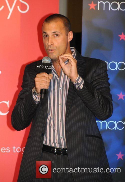 Top Model Judge Nigel Barker at MC's Macy's...