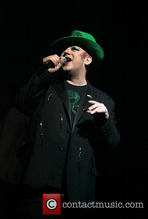 Boy George performs at Night Of The Proms...