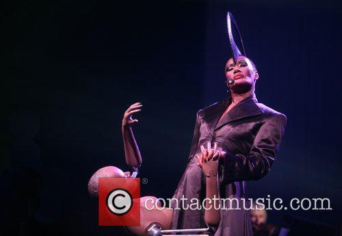 Grace Jones performs at Night Of The Proms...