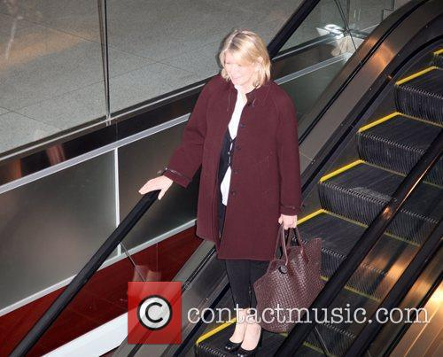 Martha Stewart  leaving The Weinstein Company's 'NINE'...