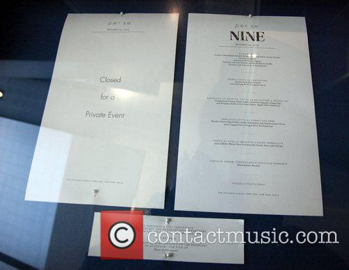 The Weinstein Company's 'NINE' luncheon at Per Se...