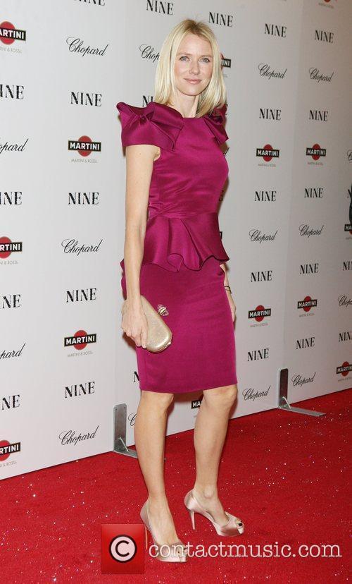 Naomin Watts New York premiere of 'Nine' sponsored...