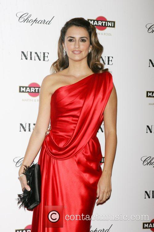 New York premiere of 'Nine' sponsored by Chopard...