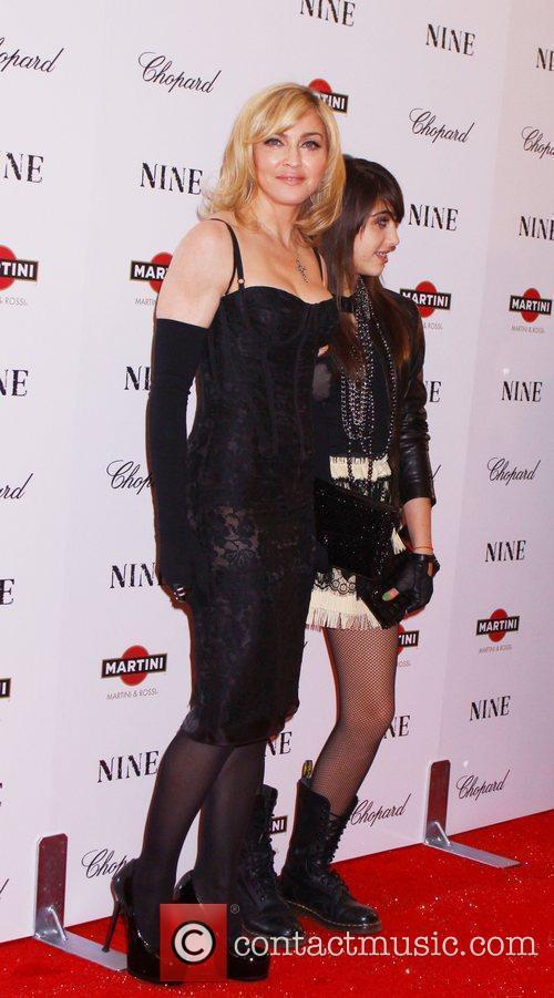 Madonna and daughter Lourdes 1