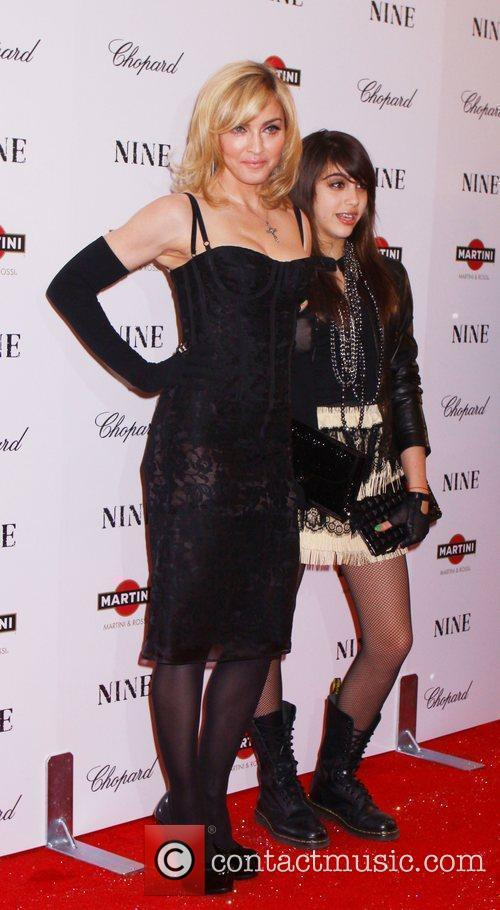 Madonna and daughter Lourdes 2