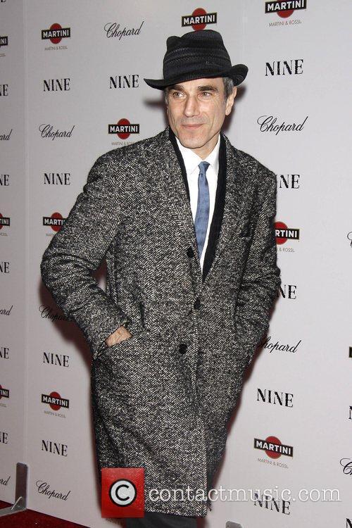 Daniel Day-Lewis New York premiere of 'Nine' sponsored...