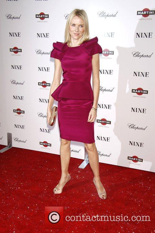 Naomi Watts New York premiere of 'Nine' sponsored...