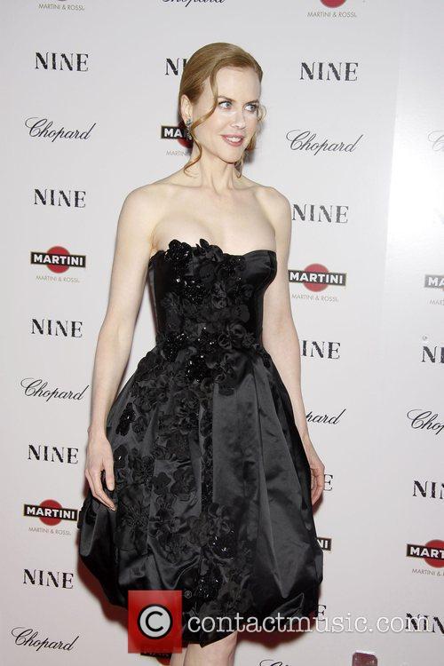 Nicole Kidman New York premiere of 'Nine' sponsored...