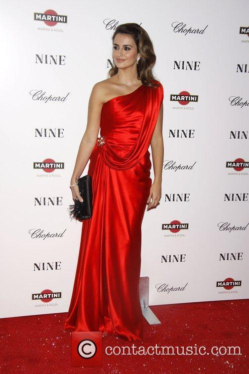 Penelope Cruz New York premiere of 'Nine' sponsored...