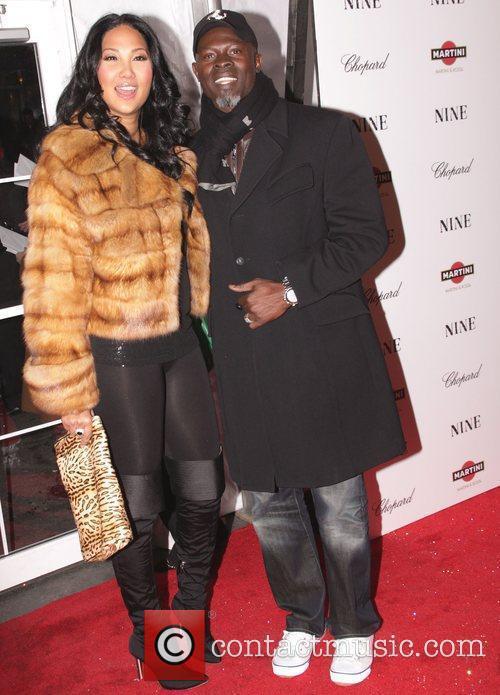 Kimora Lee Simmons and Djimon Hounsou 2