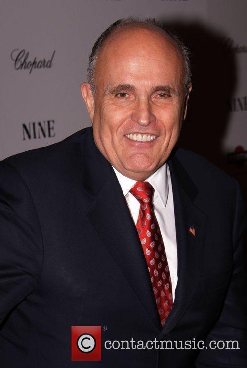 Rudy Giuliani New York premiere of 'Nine' sponsored...