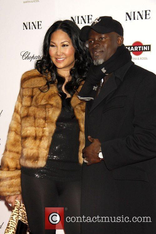 Kimora Lee Simmons and Djimon Hounsou 4