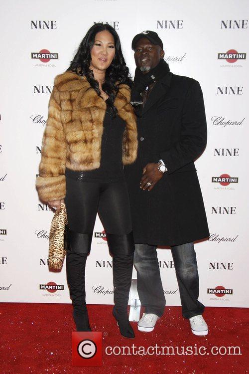 Kimora Lee Simmons and Djimon Hounsou 3