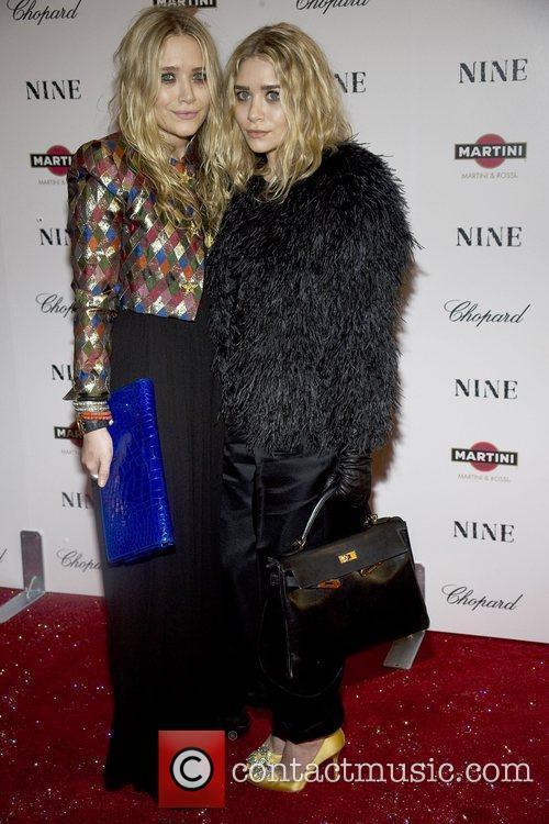 Ashley Olsen and Mary Kate Olsen New York...