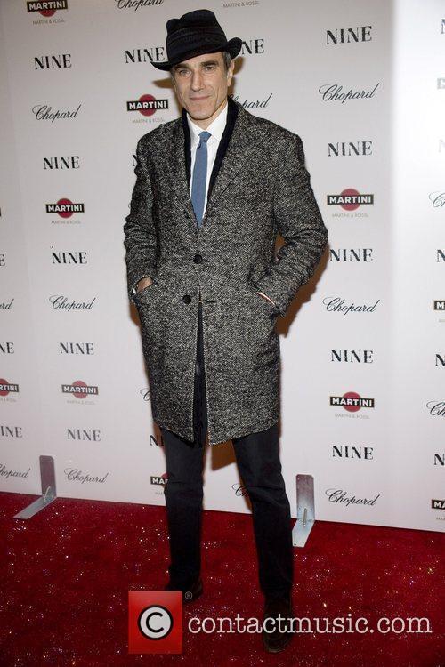 Daniel Day Lewis New York premiere of 'Nine'...