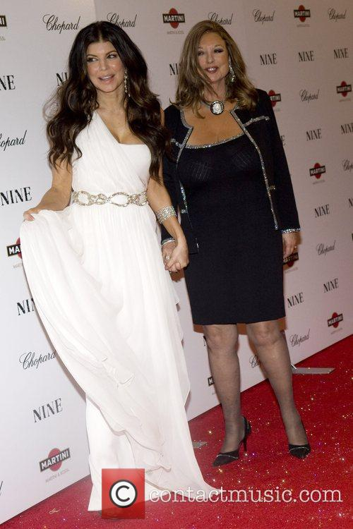 Fergie aka Stacy Ferguson and her mother New...