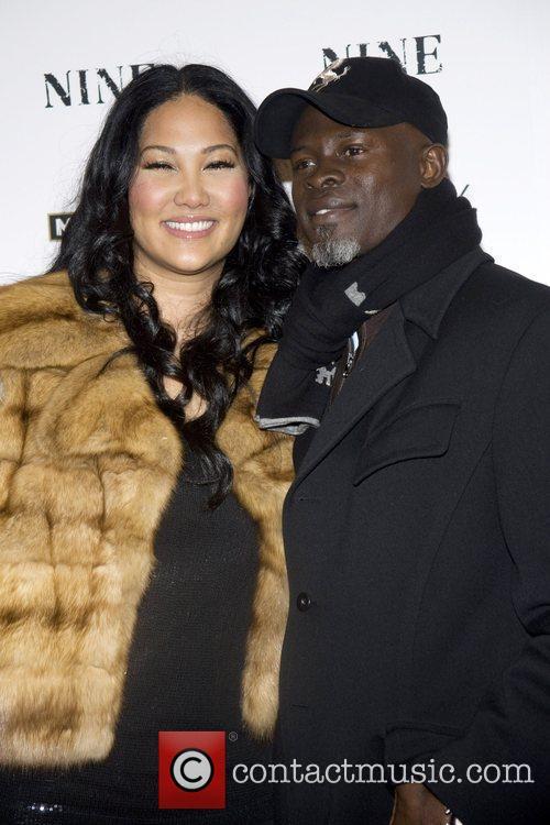 Kimora Lee Simmons and Djimon Hounsou 1
