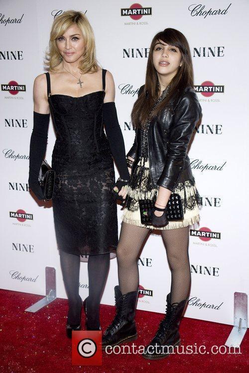Madonna and her daughter Lourdes New York premiere...