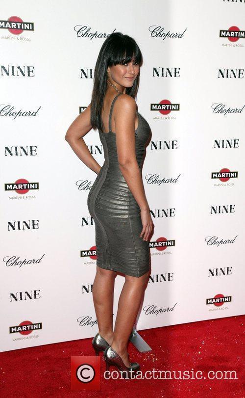 Actress Emmanuelle Chriqui New York premiere of 'Nine'...