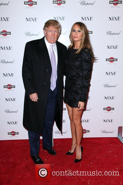 Donald Trump and Melania Knauss 3
