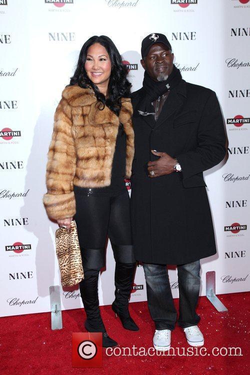 Kimora Lee Simmons and Djimon Hounsou 5