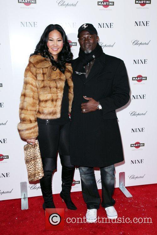 Kimora Lee Simmons and Djimon Hounsou 6