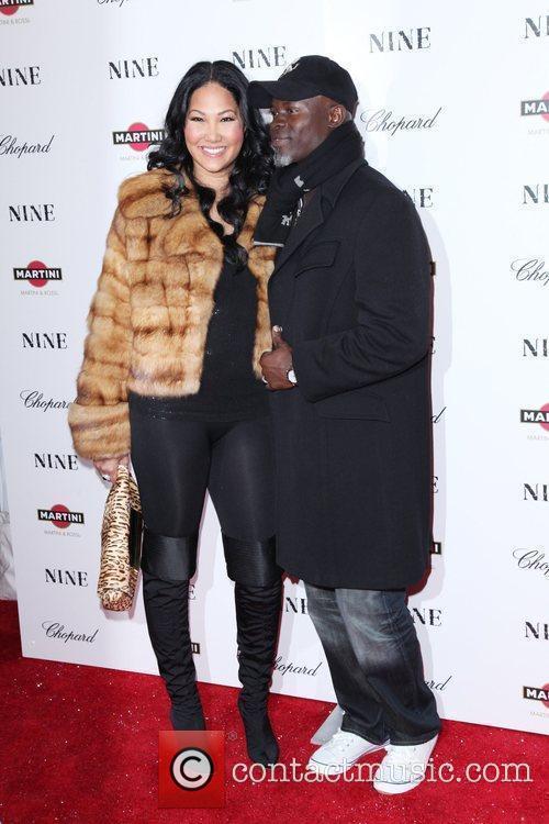 Kimora Lee Simmons and Djimon Hounsou 7