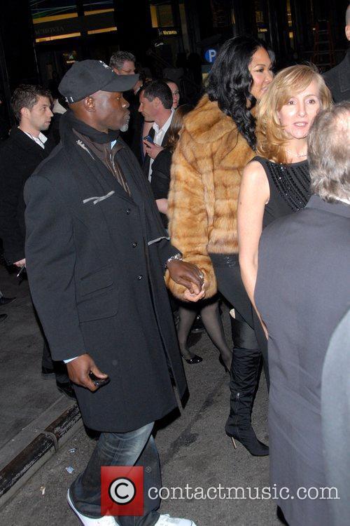 Djimon Hounsou and Kimora Lee Simmons 3