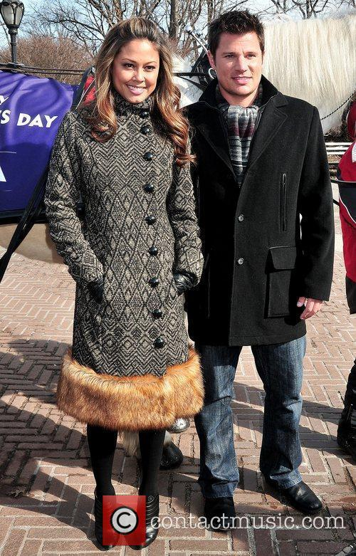Vanessa Minnillo and Nick Lachey 8