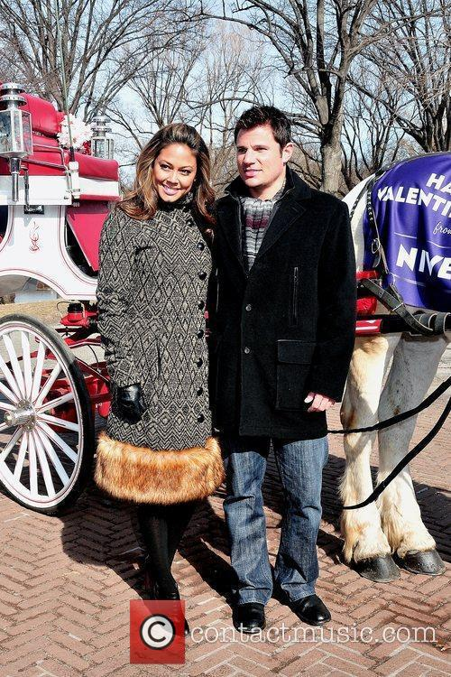 Vanessa Minnillo and Nick Lachey 1