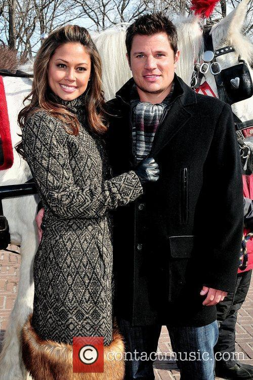 Vanessa Minnillo and Nick Lachey 12