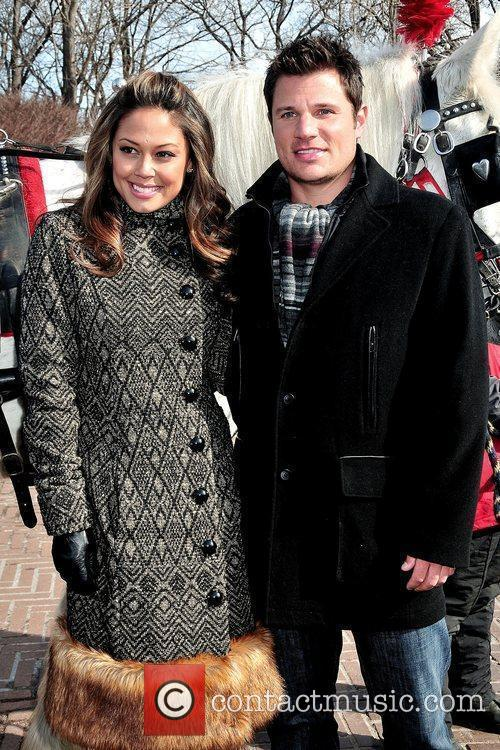 Vanessa Minnillo and Nick Lachey 6