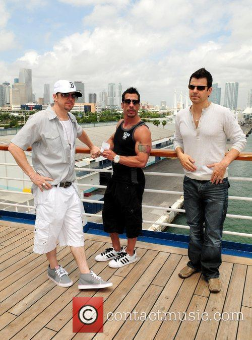 Donnie Wahlberg and Jordan 3