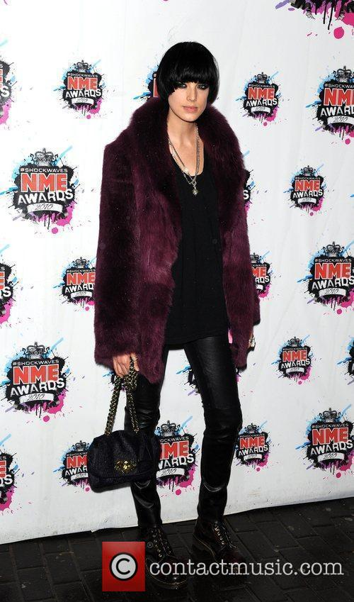 Agyness Deyn Shockwaves NME Awards 2010 held at...