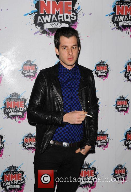 Mark Ronson Shockwaves NME Awards 2010 held at...
