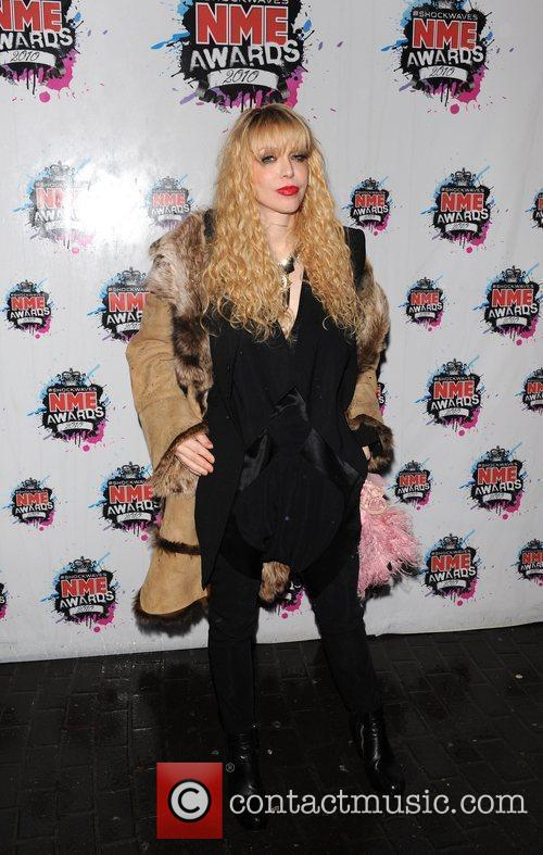 Courtney Love Shockwaves NME Awards 2010 held at...
