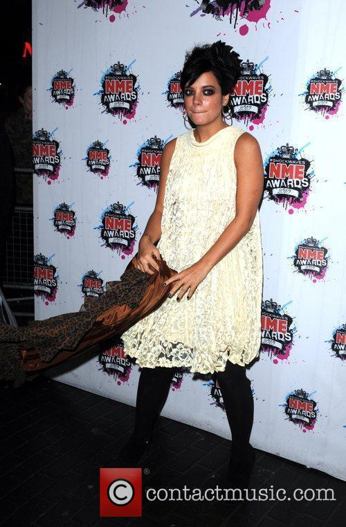 Lily Allen Shockwaves NME Awards 2010 held at...