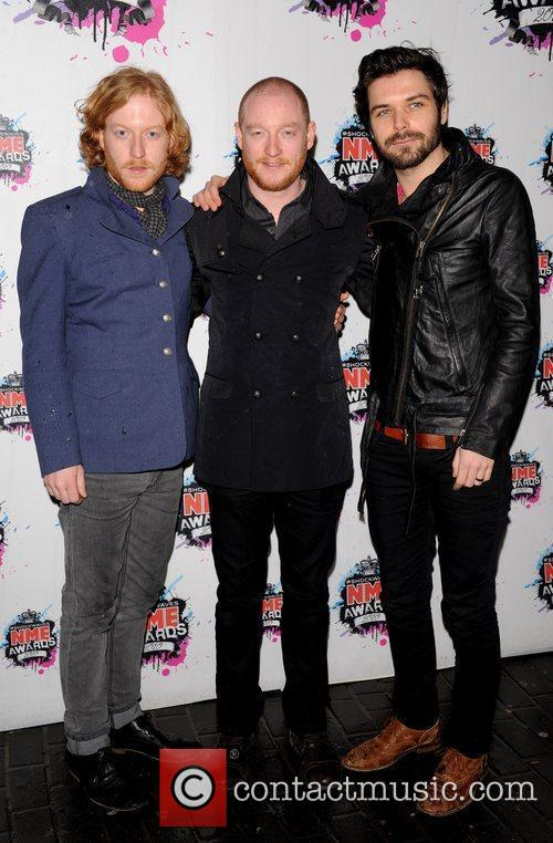Ben Johnston, James Johnston and Simon Neil of...