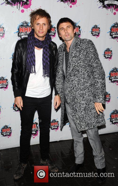 Dominic Howard and Matthew Bellamy of Muse Shockwaves...