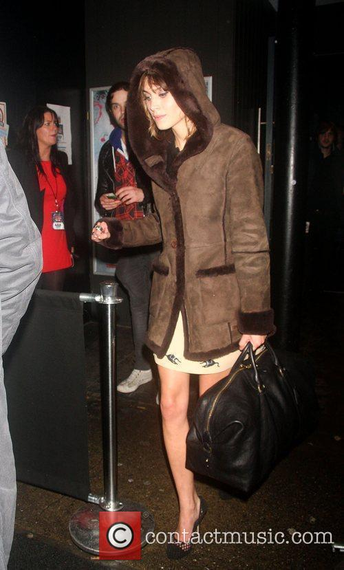 Alexa Chung Shockwaves NME Awards 2010 held at...