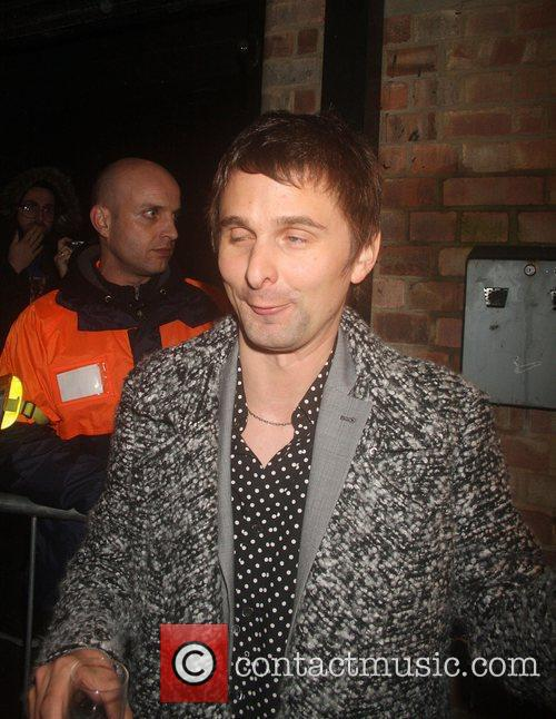 Matt Bellamy of Muse Shockwaves NME Awards 2010...