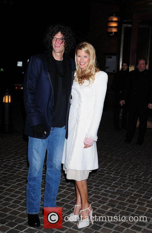 Howard Stern, Beth Ostrosky, Tribeca Grand Hotel