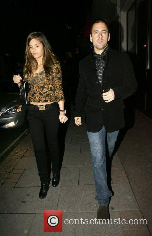 Joe Cole and Carly Zucker at Nobu Berkeley...