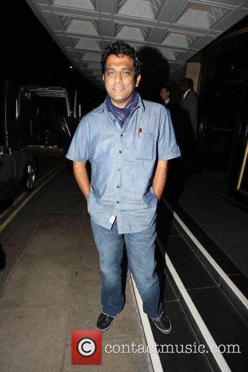 Bollywood director Anurag Basu outside the Dorchester Hotel....