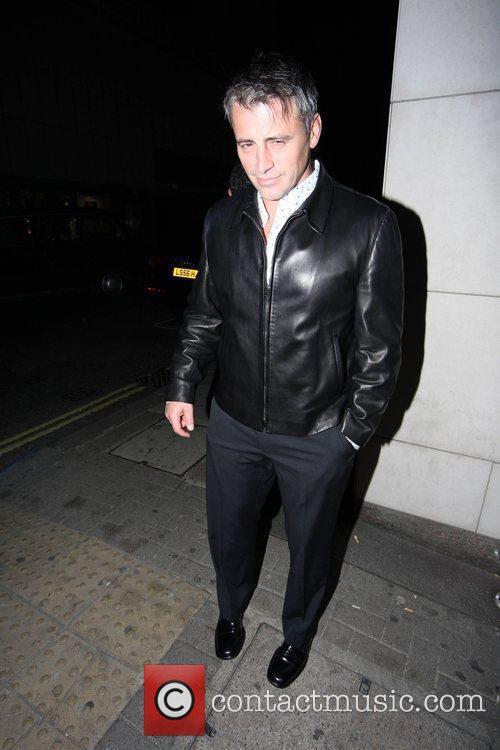 Ex-Friends star Matt LeBlanc leaves Nobu restaurant London,...