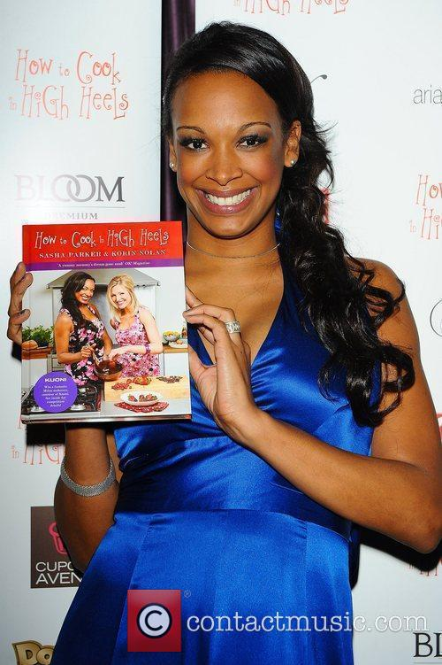 Sasha Parker,  at the 'How To Cook...