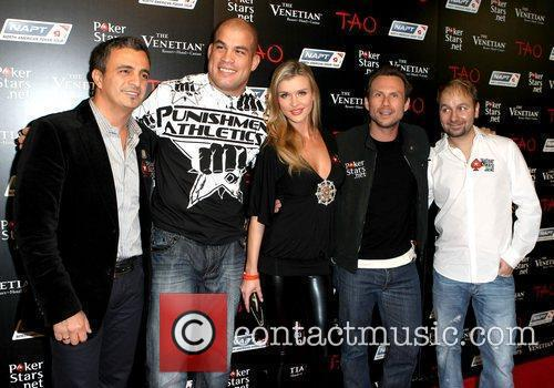 Celebrities at PokerStars.net North American Poker Tour At...